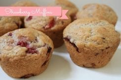 Recipe: Vegan Strawberry Muffins