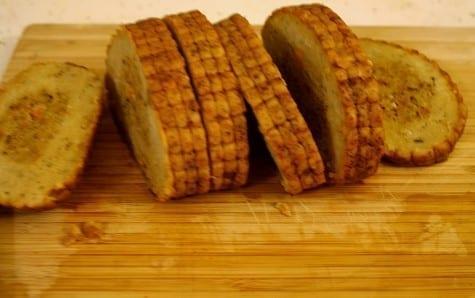 Cut the Celebration Roast into six equal slices