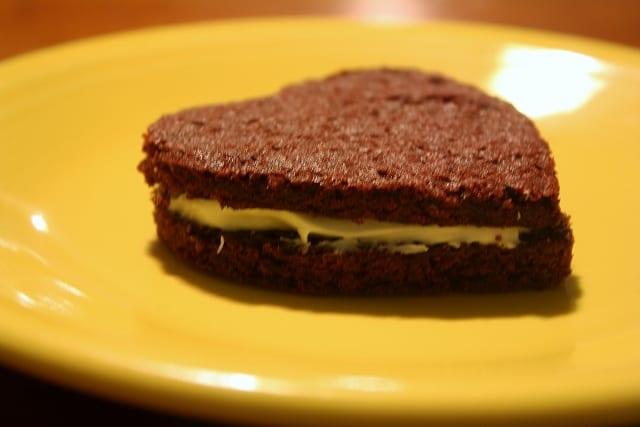 Valentine's Day Red Velvet Sandwich Cookies