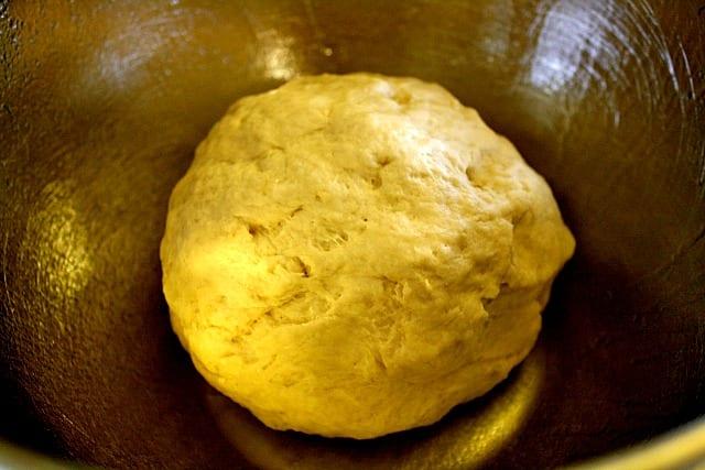vegan pretzel dough