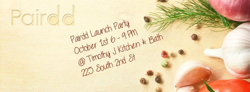Pairdd Launch Party Banner