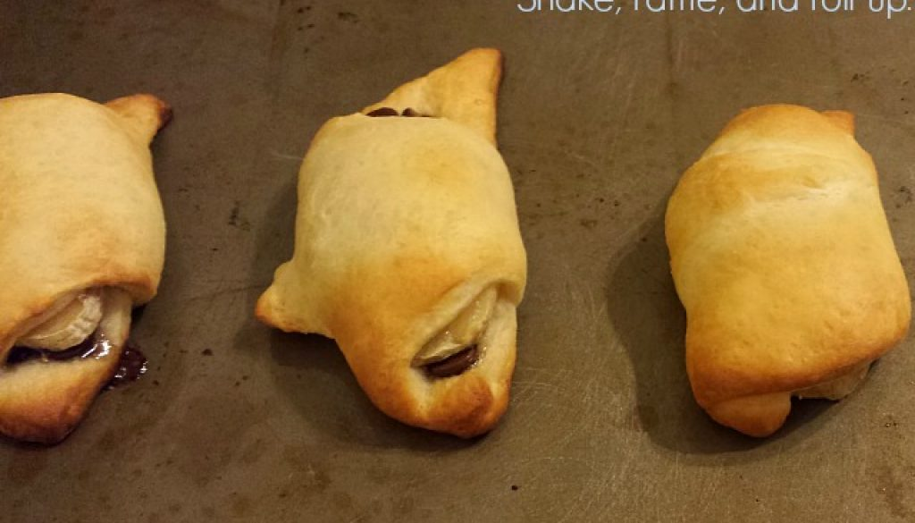 vegan crescent roll up desserts