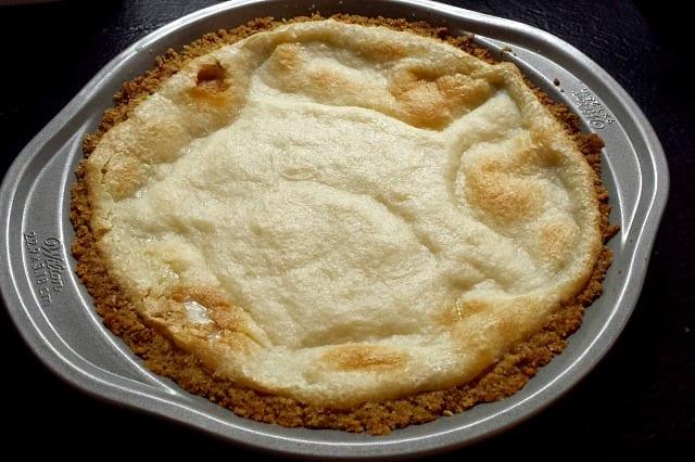vegan cheesecake pretzel crust