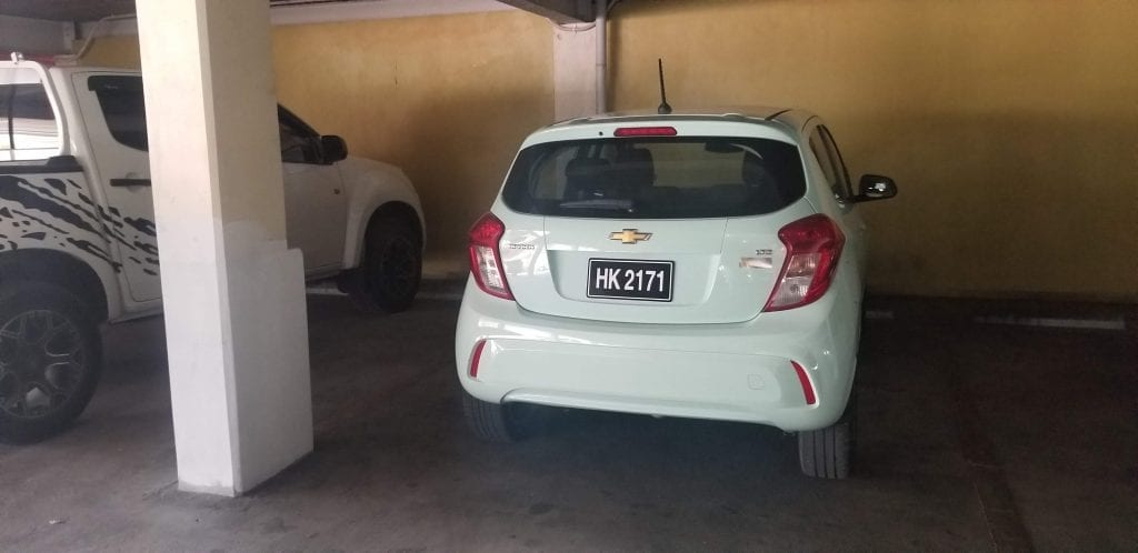 My little zippy Chevy Spark