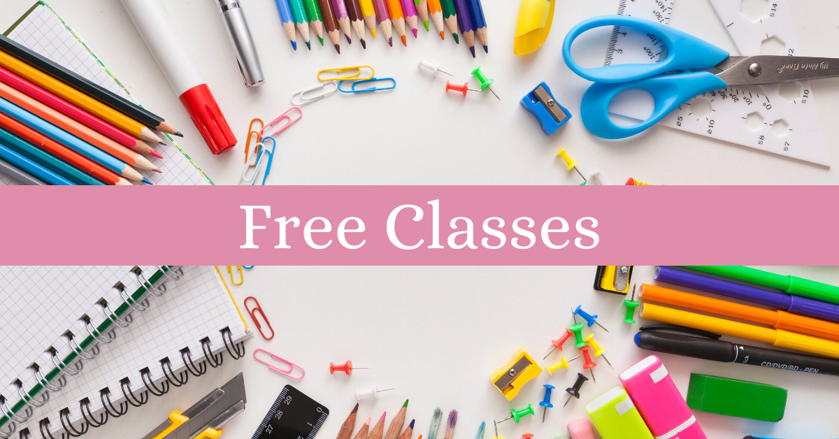 Free classes and lessons