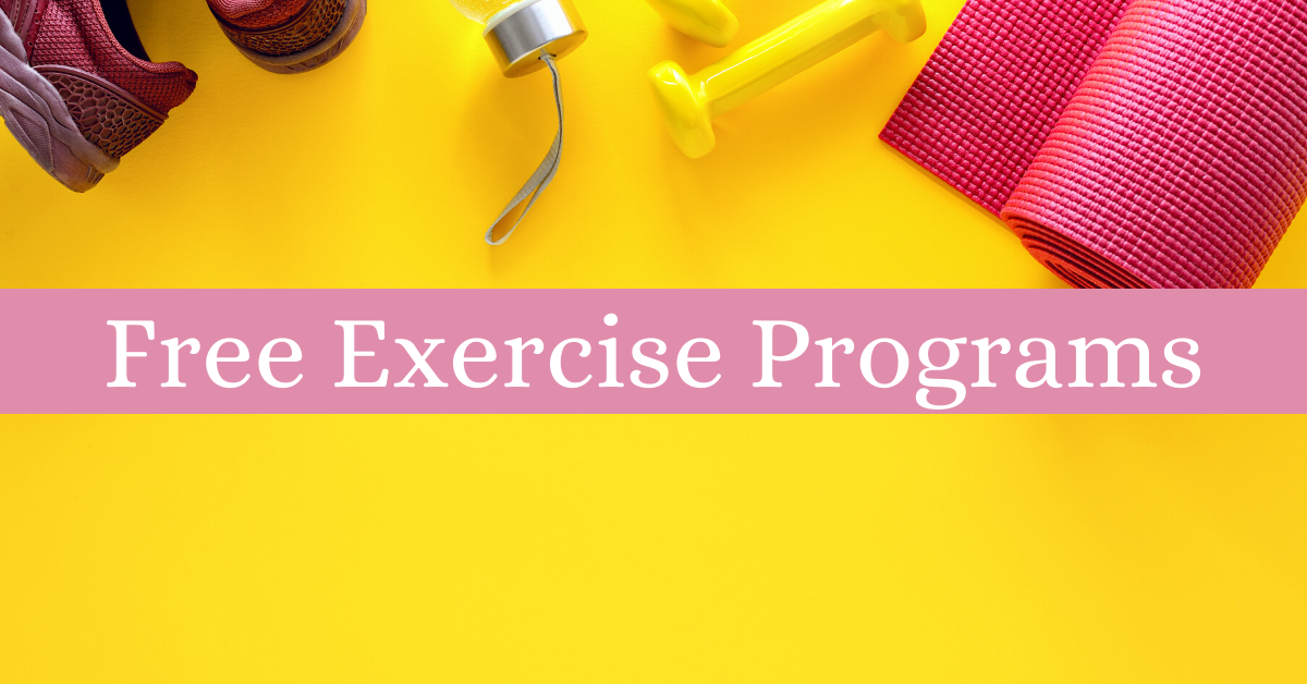 Free Exercise Programs