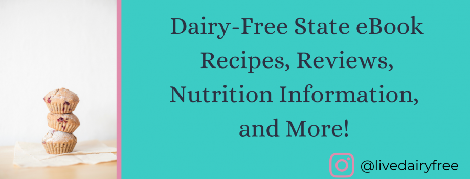 Now Published: My Dairy-Free State eBook!