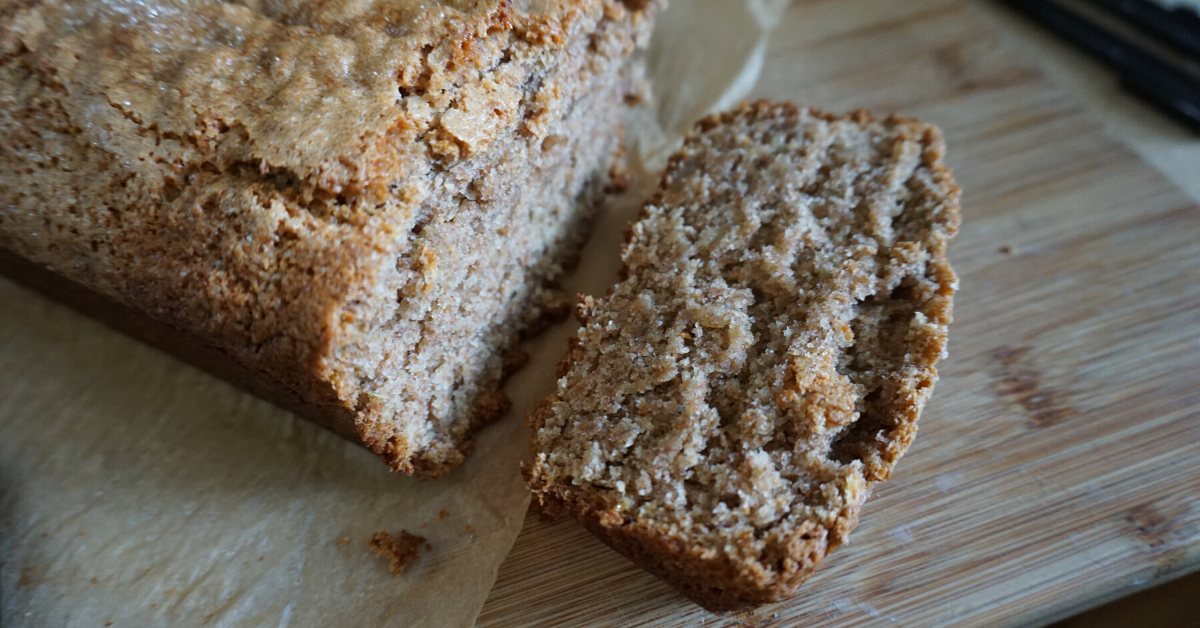 Sourdough Starter Waste Dairy-Free Banana Bread