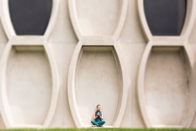 Annie Wegner LeFort posing outdoors in Milwaukee
